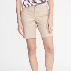 20 Old Navy Everyday Bermuda Cotton Shorts NWT